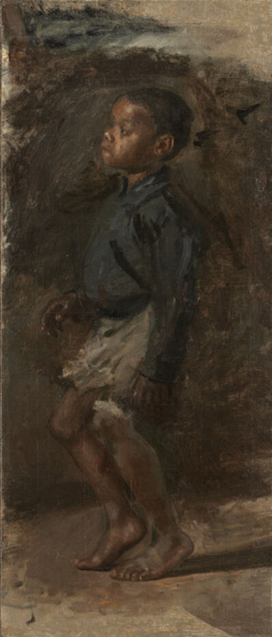 "Thomas Eakins, 'Study for ""Negro Boy Dancing"": The Boy', probably 1877"