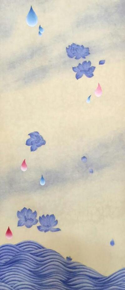 Kate Oh, '꽃비3 (Rain Drop 3)', 2016
