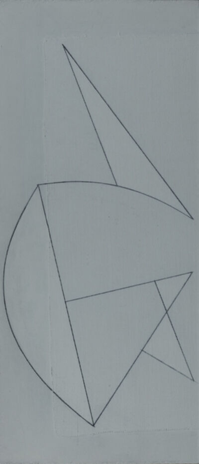 George Dannatt, 'White Counterpoint Version 2', 1986