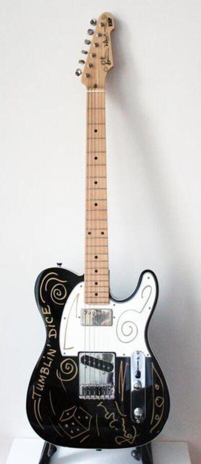 Ronnie Wood, 'Tumblin' Dice ESP Guitar', 1980s