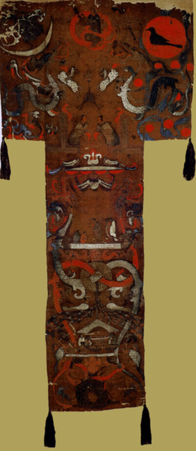 'Painted banner, Tomb of the Marquess of Dai, Mawangdui, ', ca. 160 BCE