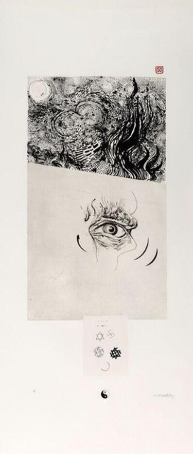 Brett Whiteley, 'Vincent (An Essay in Opposites)', 1982
