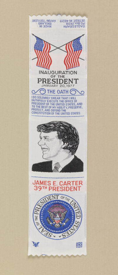 'Commemorative Ribbon Bookmark', 1976