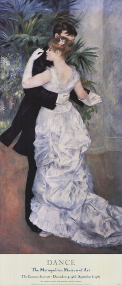 Pierre-Auguste Renoir, 'La Danse A Ville', 1986
