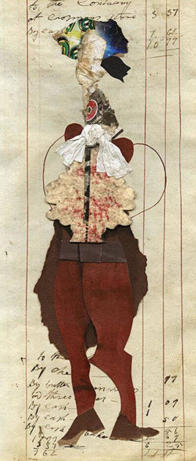 Ben Schonzeit, 'To The Contrary, Mix Media Collage Series', 2015