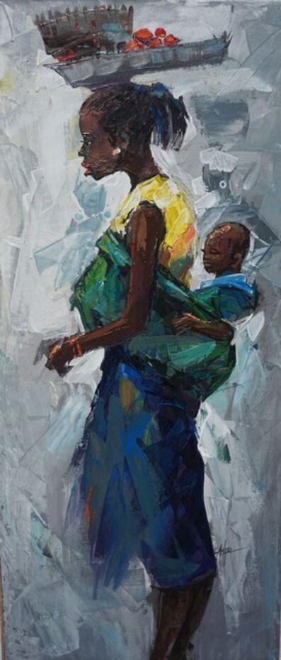 Godwin Adjei Sowah, 'Mama', ca. 2017