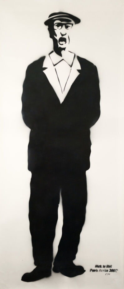 Blek le Rat, 'Old Irish Man', 2002