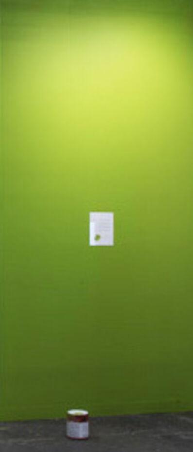 Julien Bismuth, 'Oops color paint painting ', 2016