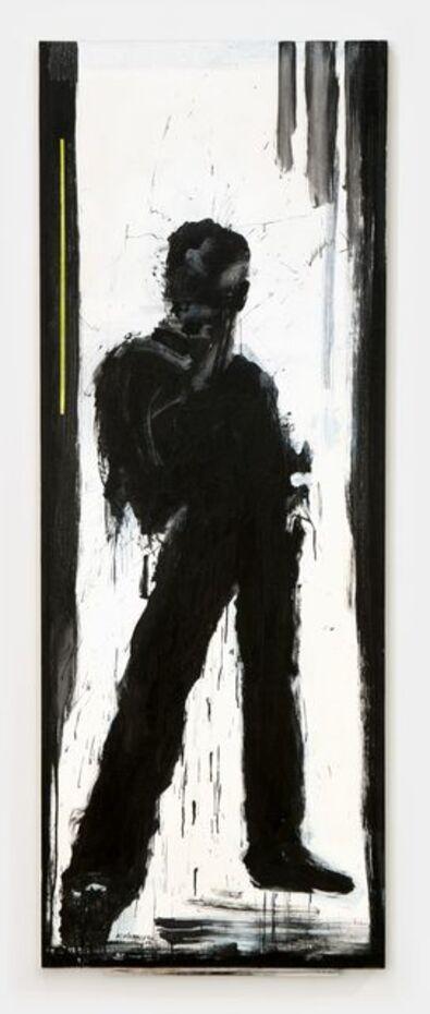 Richard Hambleton, 'Standing Shadow With Green Stripe', 2009