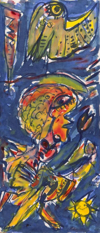 Carl-Henning Pedersen, 'Spartakus 01', 1995