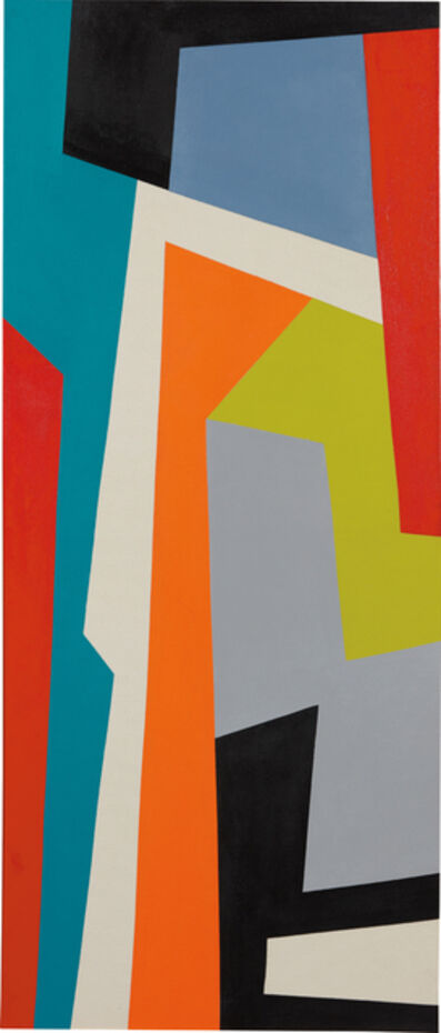 José Rosabal, 'Composition with Orange', 2015