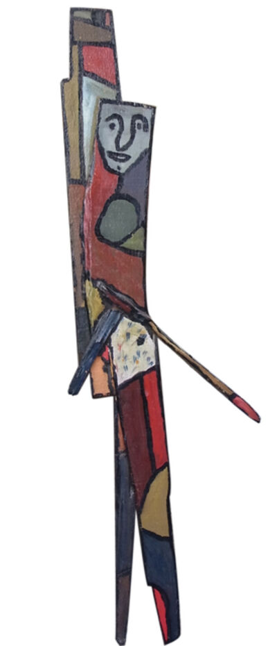 Gaston Chaissac, 'Personnage', ca. 1960