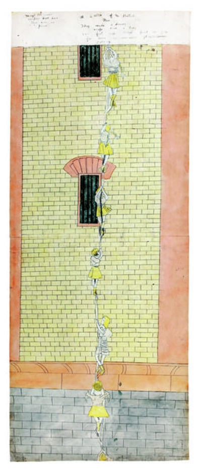 Henry Darger, 'Make daring escape', 1910-1970
