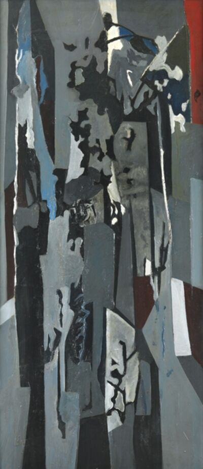 Caziel, 'WC243 - Composition no. 45', 1955