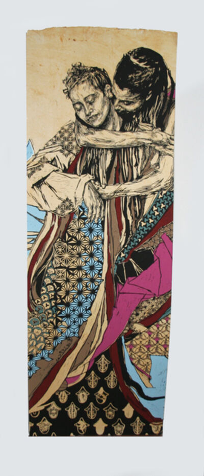 Swoon, '#132 Alixa and Naima AP', 2014