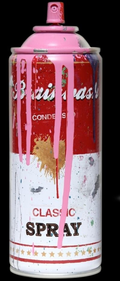 Mr. Brainwash, 'Tomato Spray Can (Pink)', 2013
