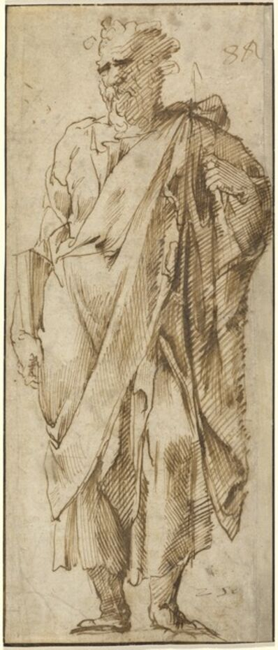 Domenico Beccafumi, 'A Standing Saint'