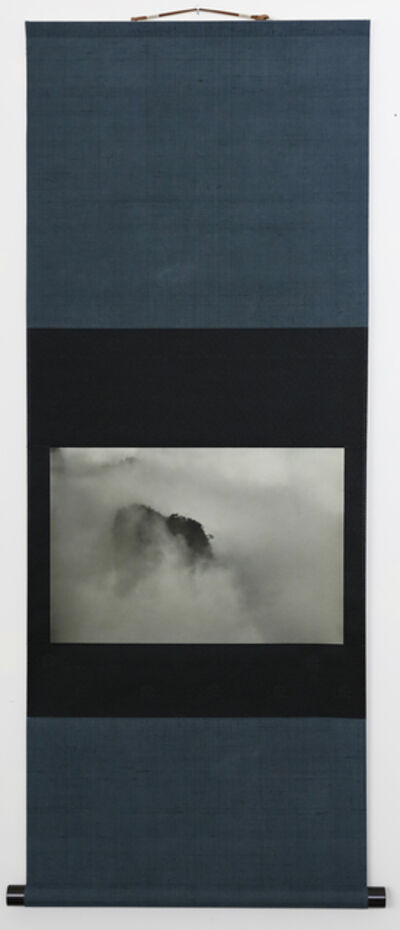 Kenji Wakasugi, 'Hillsides in Fog (Printed on Japanese washi paper and mounted on a scroll)', 2017