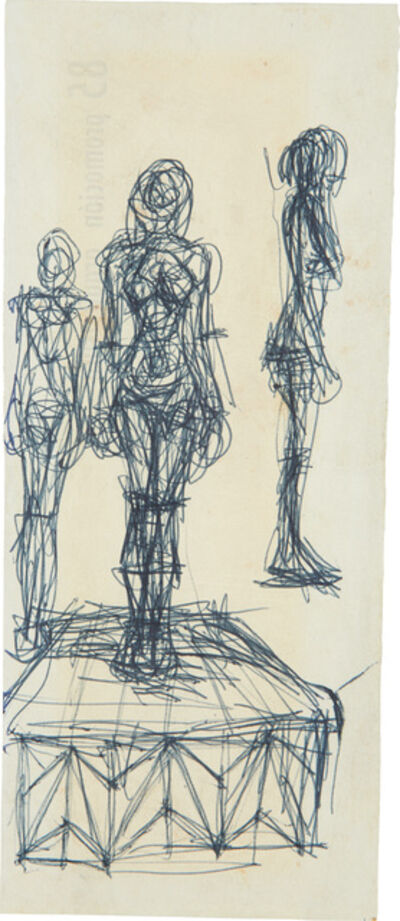 Alberto Giacometti, 'Femmes debout', 1960-1961
