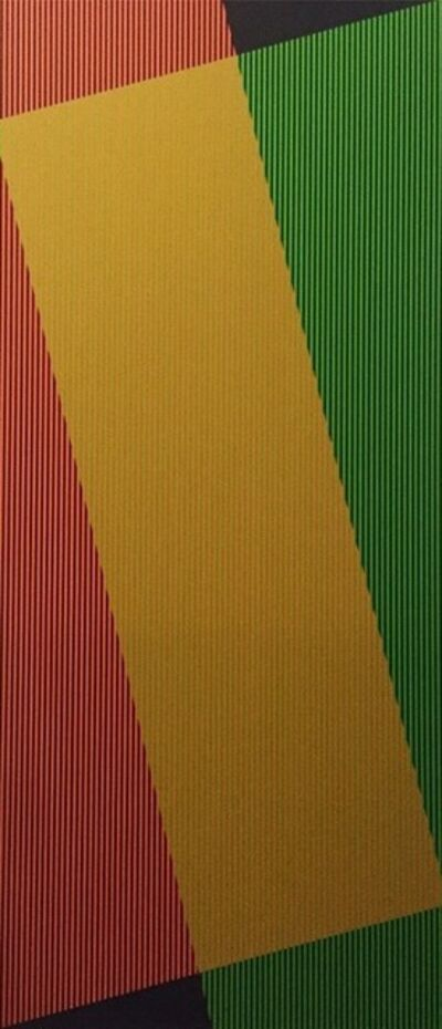 Carlos Cruz-Diez, 'Jaune Additif Denise A', 2007