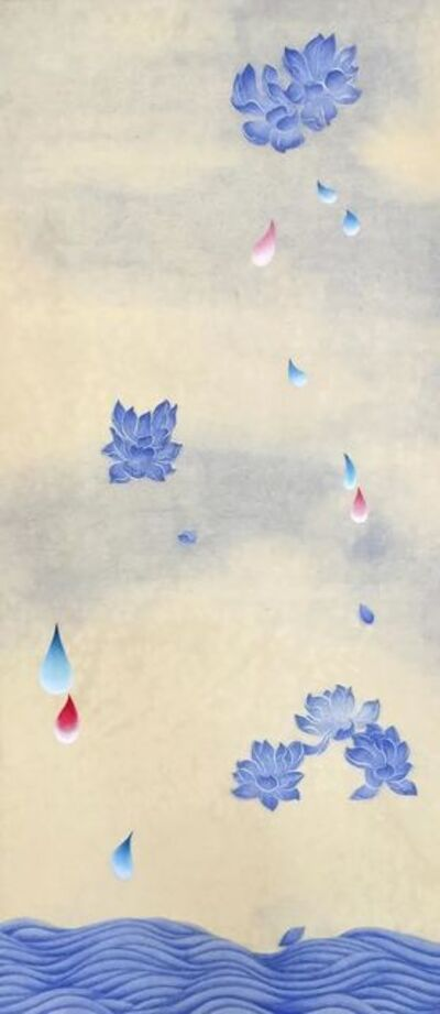 Kate Oh, '꽃비4 (Rain Drop 4)', 2016