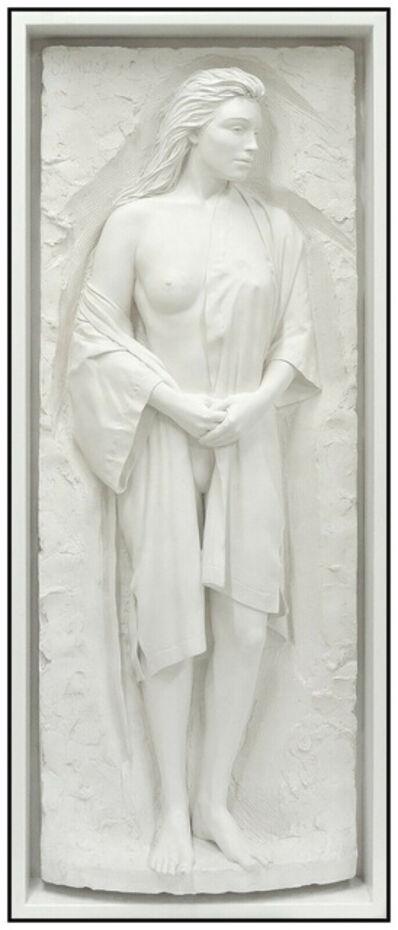Bill Mack, 'Bill Mack Reminiscence Bonded Sand Large Figurative Relief Sculpture Signed Art', 1991
