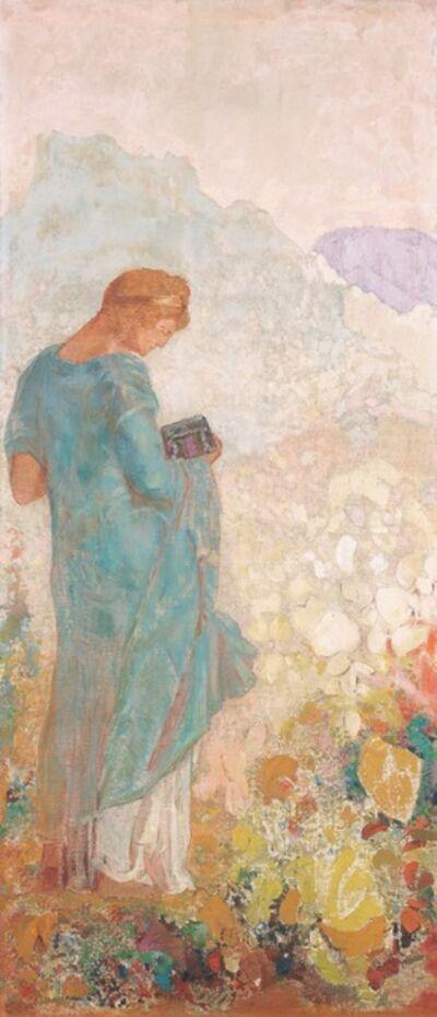 Odilon Redon, 'Pandora', 1910/1912
