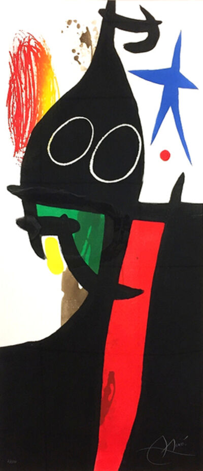 Joan Miró, 'Le Serrasin à L'étoile Bleue (Buckwheat with Blue Star)', 1973