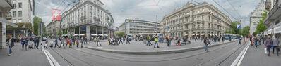 David Kutz, 'Paradeplatz Tram Stop, Zurich, Switzerland', 2017