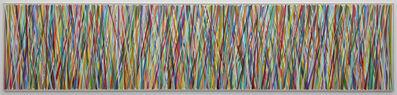Beat Zoderer, 'Vertical ZIGZAG No. 12/19 (homage to Henri Rousseau)', 2019