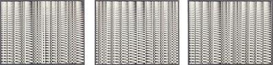 Lucia di Luciano, 'In orizzontale: struttura ritmica in combinatoria / In verticale: struttura con immagini in progressione I,II,III', 1965
