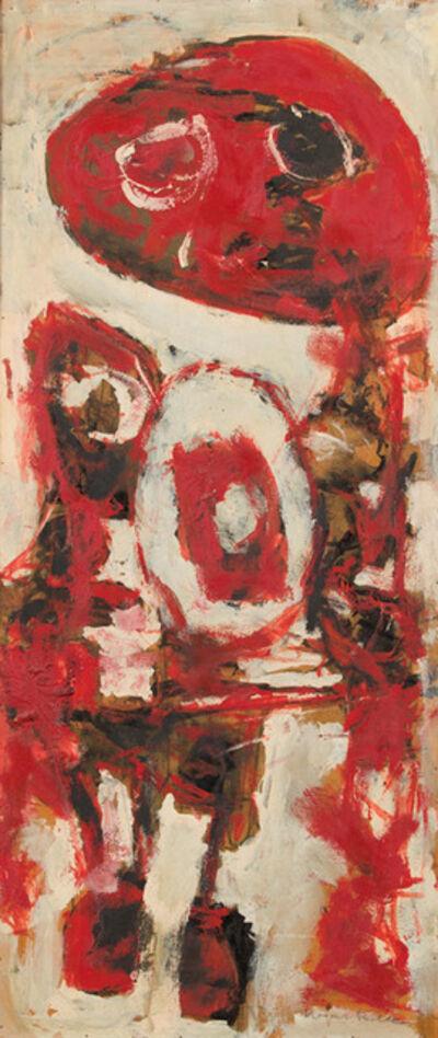 Mogens Balle, 'Figures in red', ca. 1953