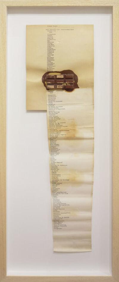 Joseph Beuys, ' Zwei Fräulein mit leuchtendem Brot', 1966