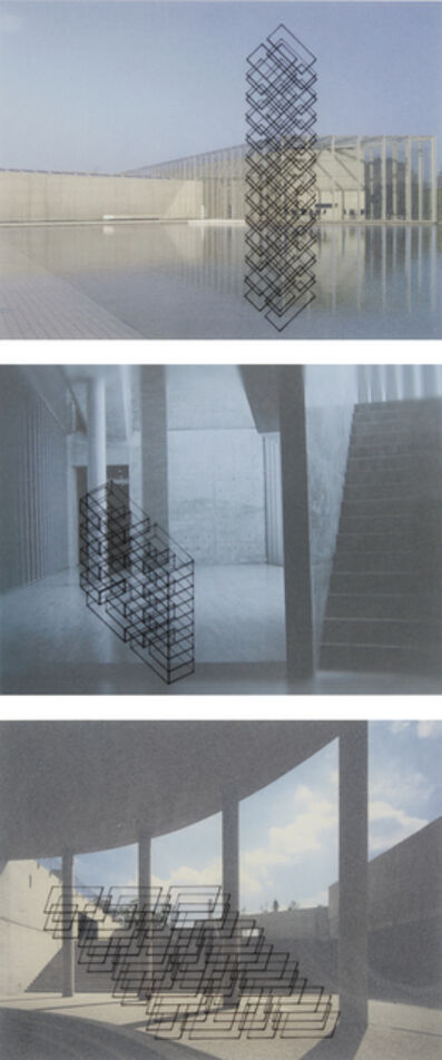 Ronald Moran, 'Three works: Untitled (from the series 'Diálogo inmaterial en un espacio de Tadao Ando')'