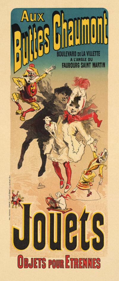 Jules Chéret, 'Aux Buttes Chaumont, Jouets', 1899