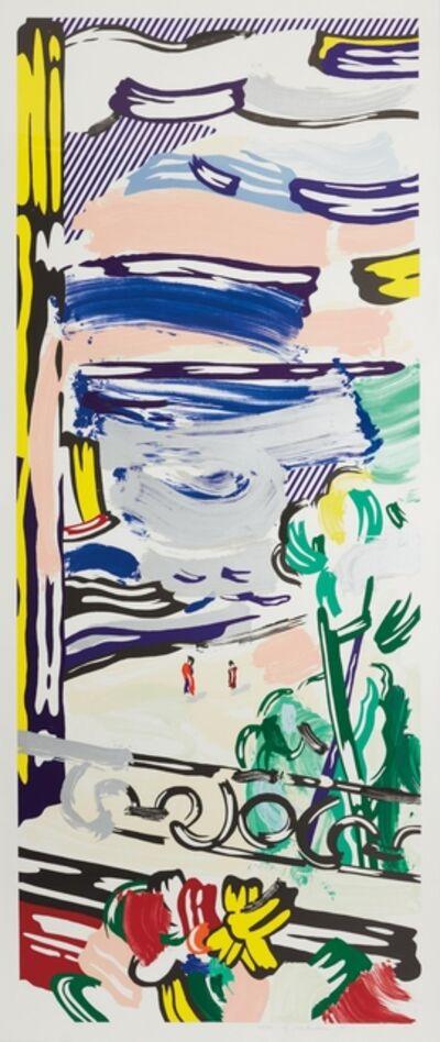 Roy Lichtenstein, 'View from the Window', 1985