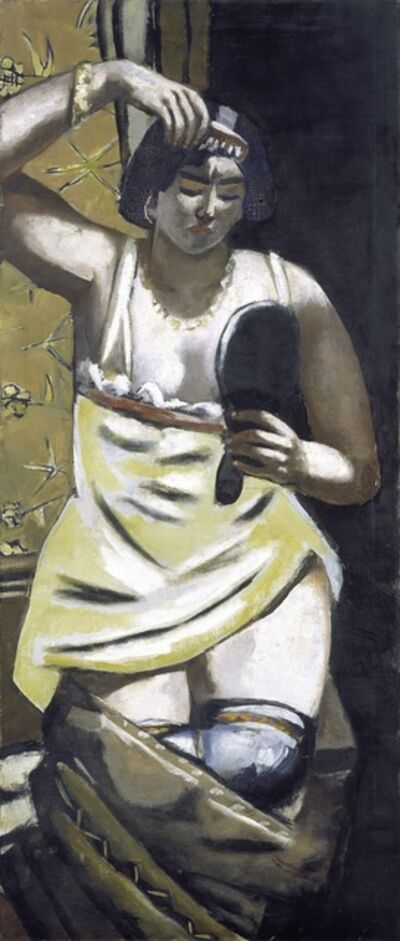 Max Beckmann, 'The Gypsy Woman', 1928