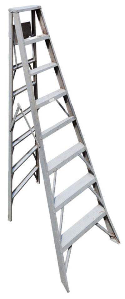 Jennifer Williams, 'Large Folding Ladder: Aluminum Open', 2012