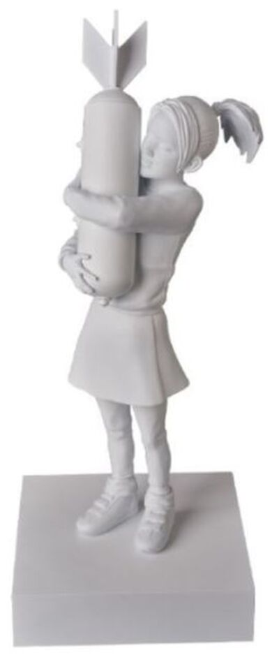 Banksy, 'Banksy BOMB HUGGER WHITE', 2020