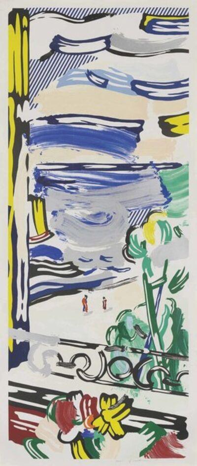Roy Lichtenstein, 'View from the Window, from: Landscape Series', 1985