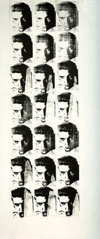 Andy Warhol, 'Elvis 21 Times', 1962