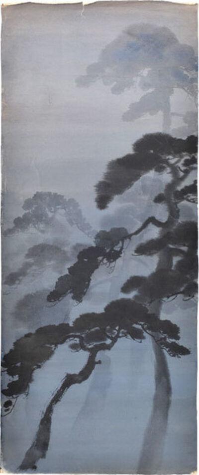 Kakunen Tsuruoka, 'Misty Pines', n.d., ca. 1920, 30s