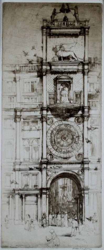 Donald Shaw MacLaughlan, 'The Clock Tower, Venice', 1909