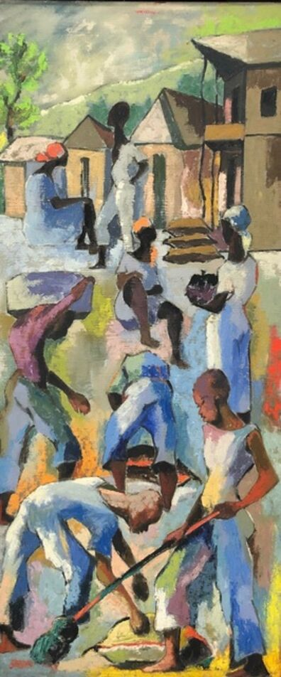 Dieudonne Cedor, 'Untitled (Haitian Workers) ', 1960