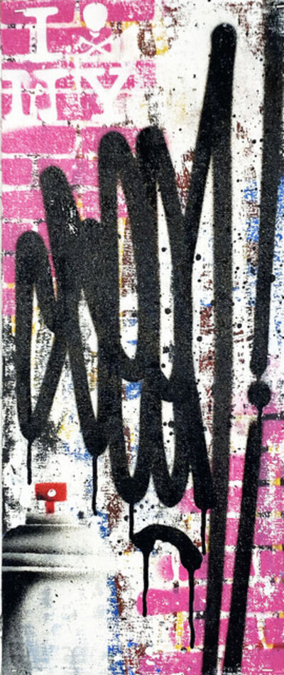 SEEN, ''Tags' (pink-vertical)', 2019