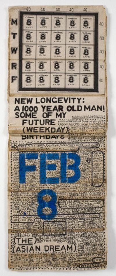 George Widener, 'New Longevity: A 1000 Year Old Man!', n.d.