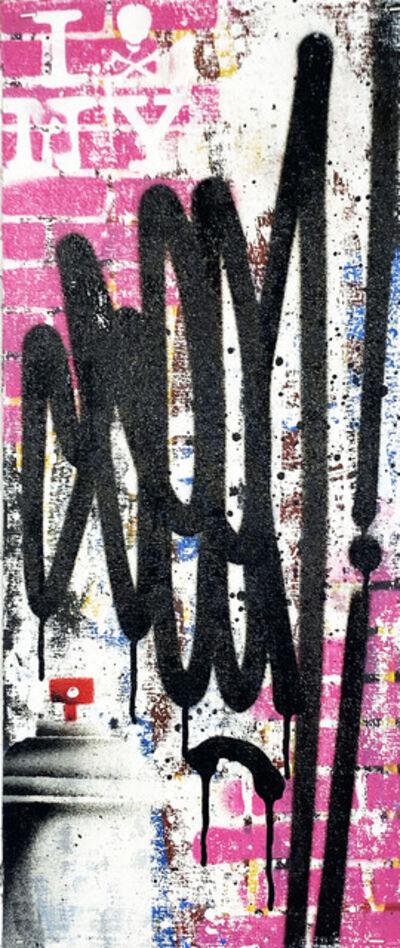 SEEN, 'Tags (pink vertical)', 2019