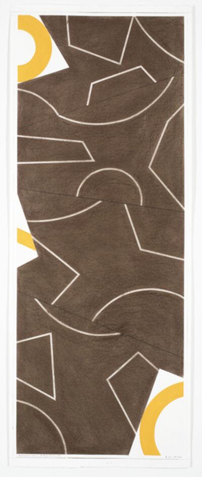 David Tremlett, 'Drawing in 4 Parts #2', 2004