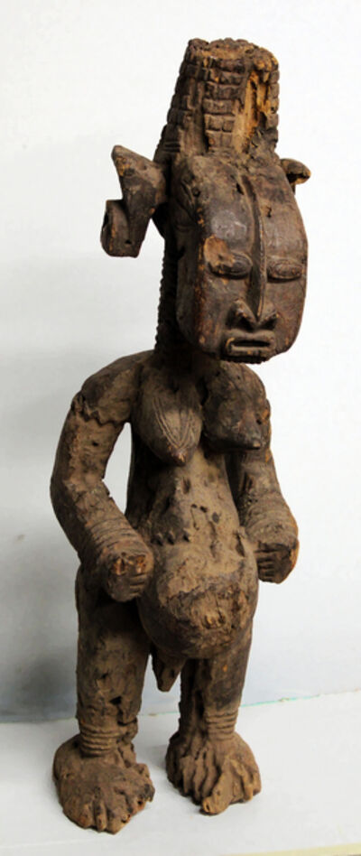 Unknown Lobi, 'Lobi Burkina Faso Female Figure', 20th Century