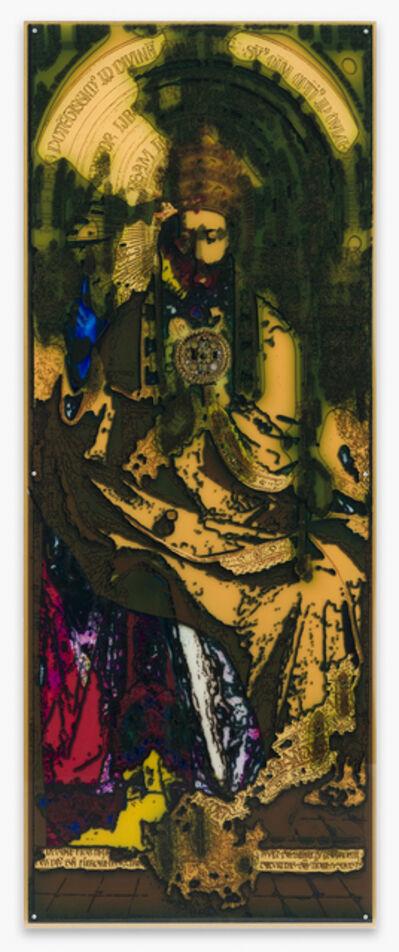Anne-Mie Van Kerckhoven, 'De Goddelijkheid - naar het Lam Gods (The Divinity - After the Ghent Altar Piece)', 2020